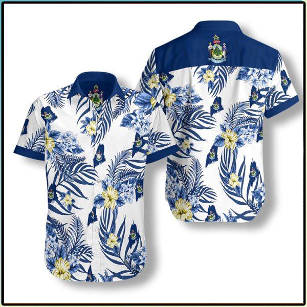 Maine Proud Hawaiian Shirt3