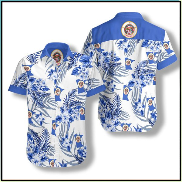 Minnesota Proud Proud Hawaiian Shirt3 1