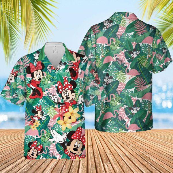 Minnie mouse hawaiian shirt
