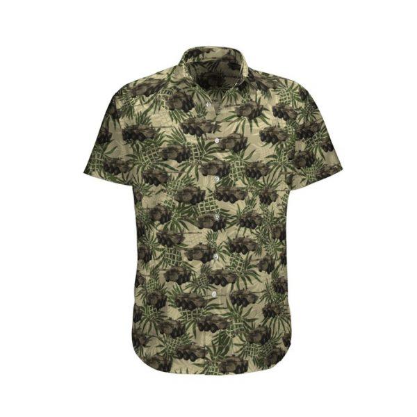 Mx 10 Rc French Army Hawaiian Shirt And Shorts