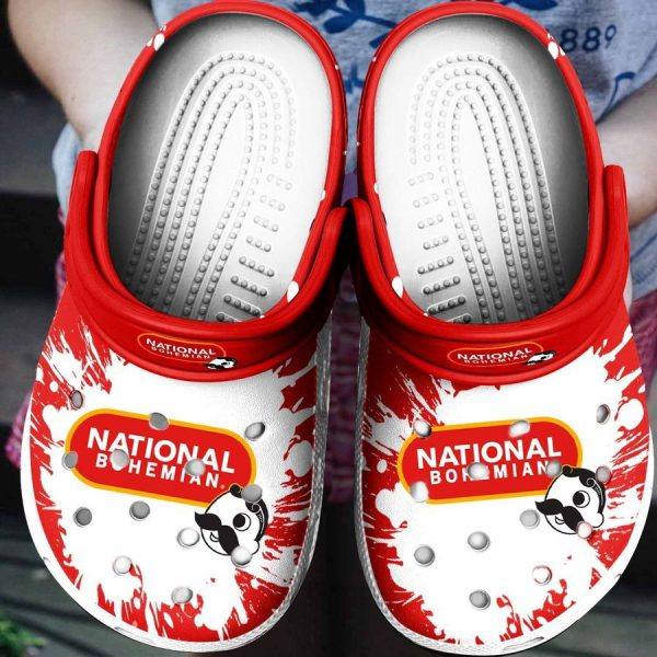 National Bohemian Croc shoes crocband
