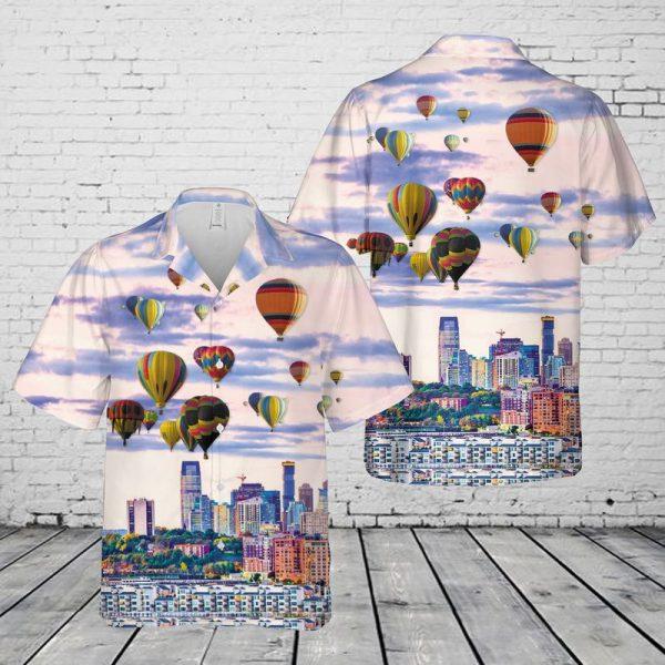 New Jersey Hot Air Balloon Festival Hawaiian Shirt