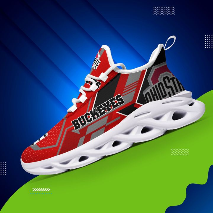 Ohio state buckeyes max soul clunky shoes 1