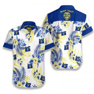 Oregon Proud Hawaiian Shirt