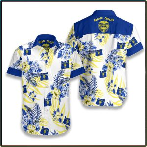 Oregon Proud Hawaiian Shirt1