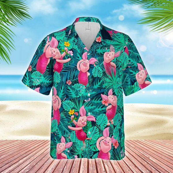 Piglet hawaiian shirt