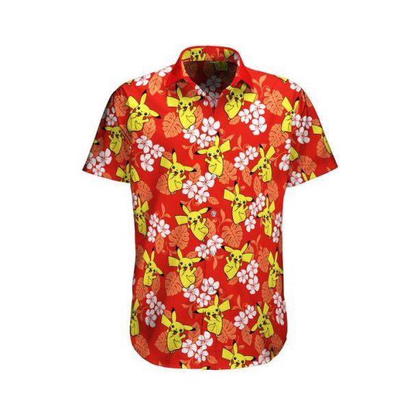 Pikachu Pokemon Hawaiian Shirt