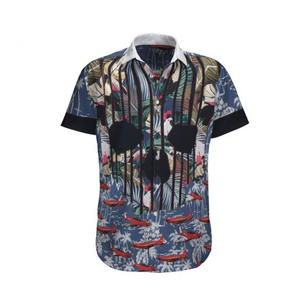 Pilatus Pc 21 Royal Australian Air Force Hawaiian Shirt And Shorts
