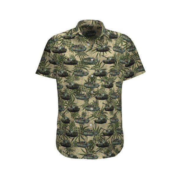 Pineapple Leclerc French Army Hawaiian Shirt And Shorts
