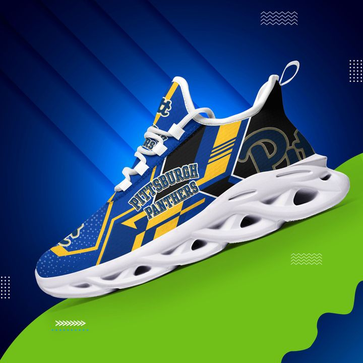 Pittsburgh panthers max soul clunky shoes 1