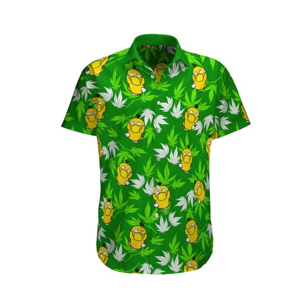 Psyduck Pokemon Hawaiian Shirt
