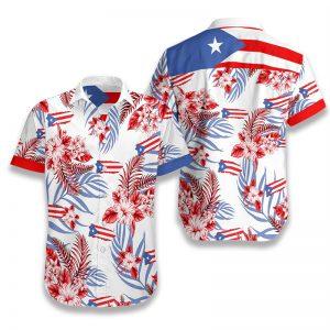 Puerto Rico Hawaiian Shirt