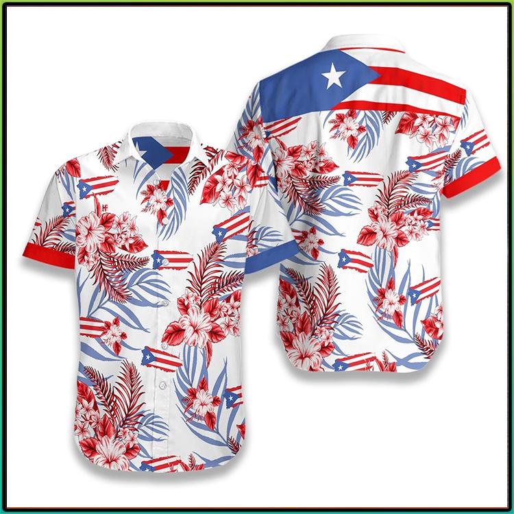 Puerto Rico Hawaiian Shirt1