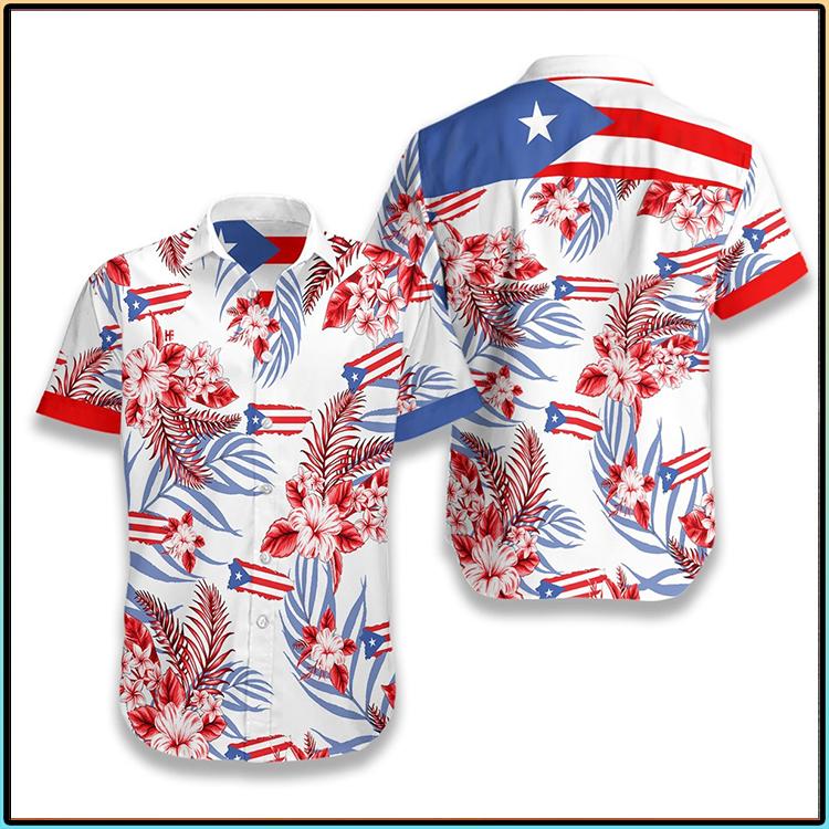 Puerto Rico Hawaiian Shirt3