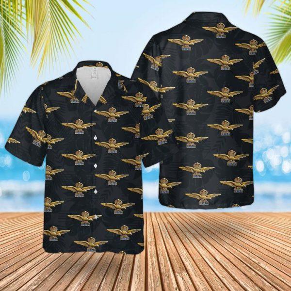 Raf Badge Hawaiian Shirt and short