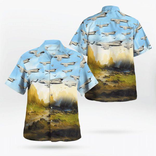 Raf Blackburn Buccaneer Hawaiian Shirt and short