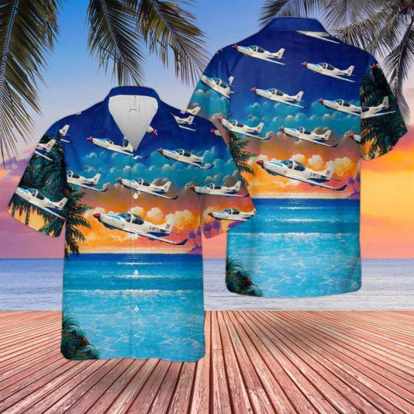 Raf Grob Prefect T1 Hawaiian Shirt and short