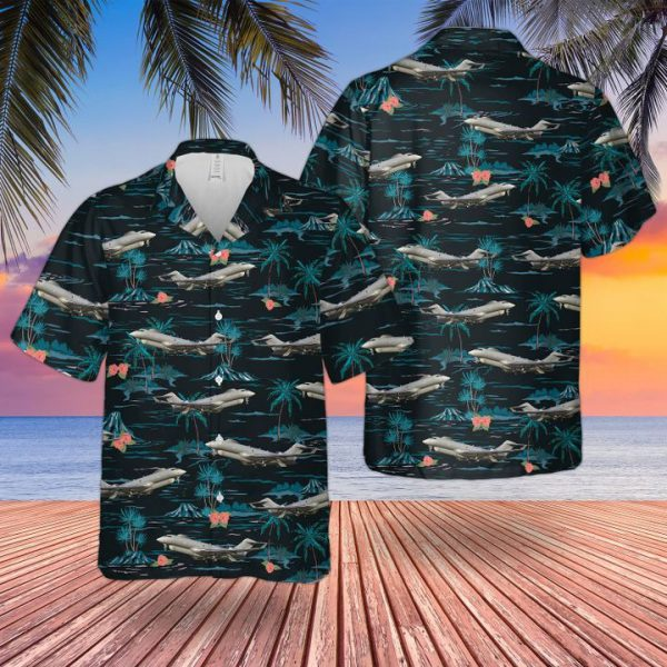 Raf Historical Sentinel R1 Hawaiian Shirt
