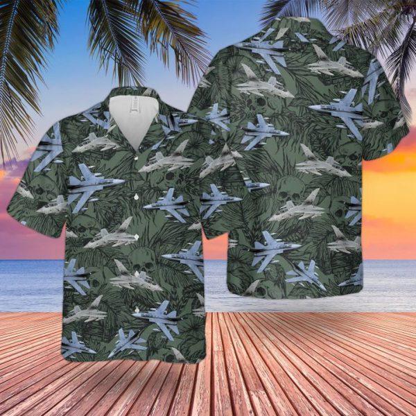 Raf Historical Tornado Gr4 Hawaiian Shirt and short