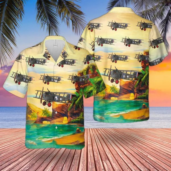 Raf Sopwith Dolphin 5fi Hawaiian Shirt