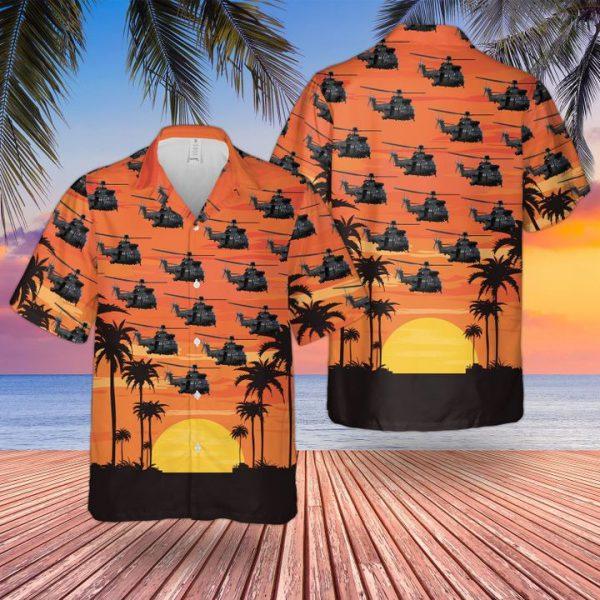 Raf The Puma Hc Mk2 Hawaiian Shirt and short