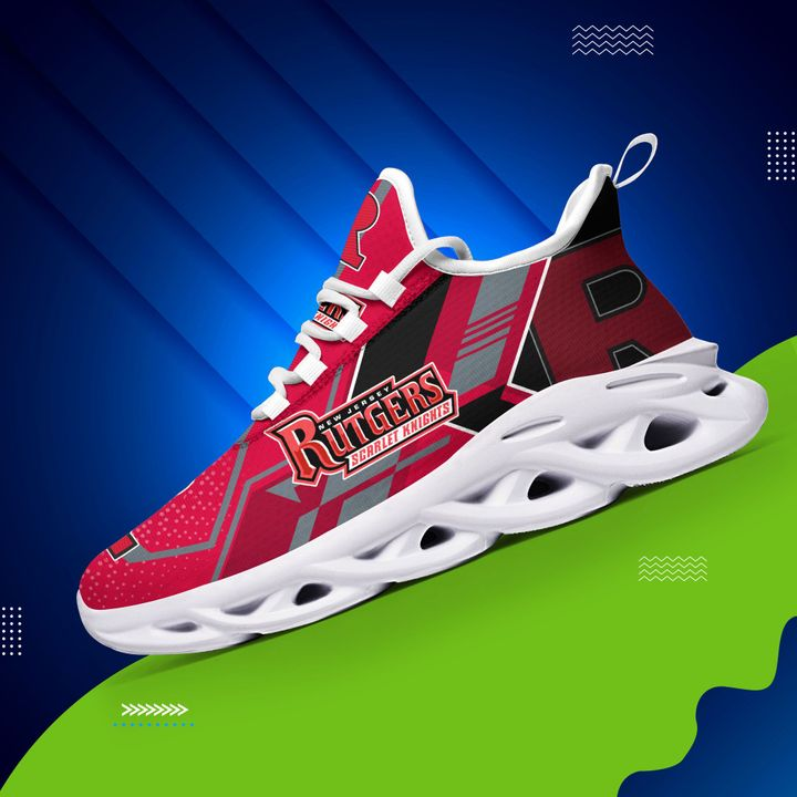 Rutgers scarlet knights max soul clunky shoes 1