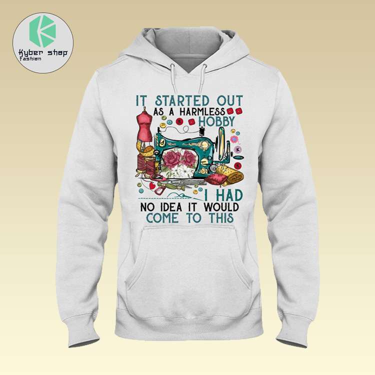 Sewing it started out as a harmless hobby I had no idea it would come to this shirt 4