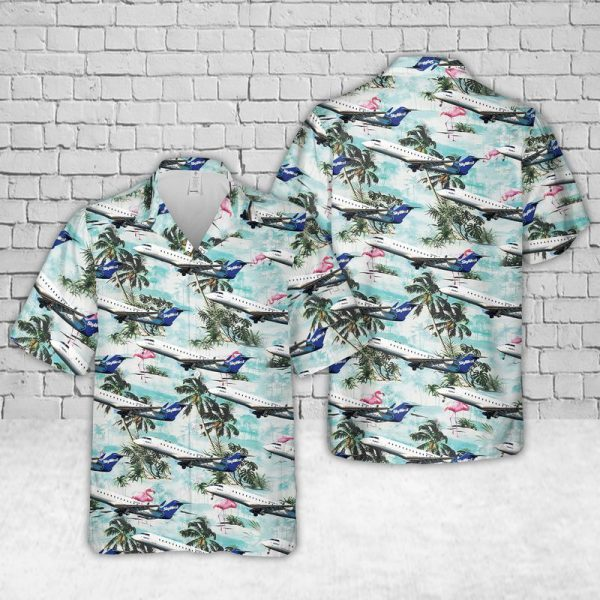 SkyWest CRJ 200 Hawaiian Shirt