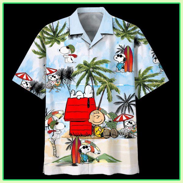 Snoopy Summer Time Hawaiian Shirt
