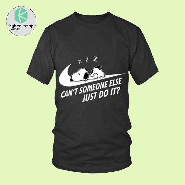 Snoopy cant someone else just do it shirt hoodie 2