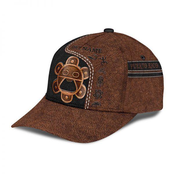 Sol Taino Puerto Rico Custom Name Cap3