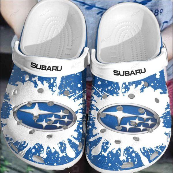 Subaru car croc crocband clog