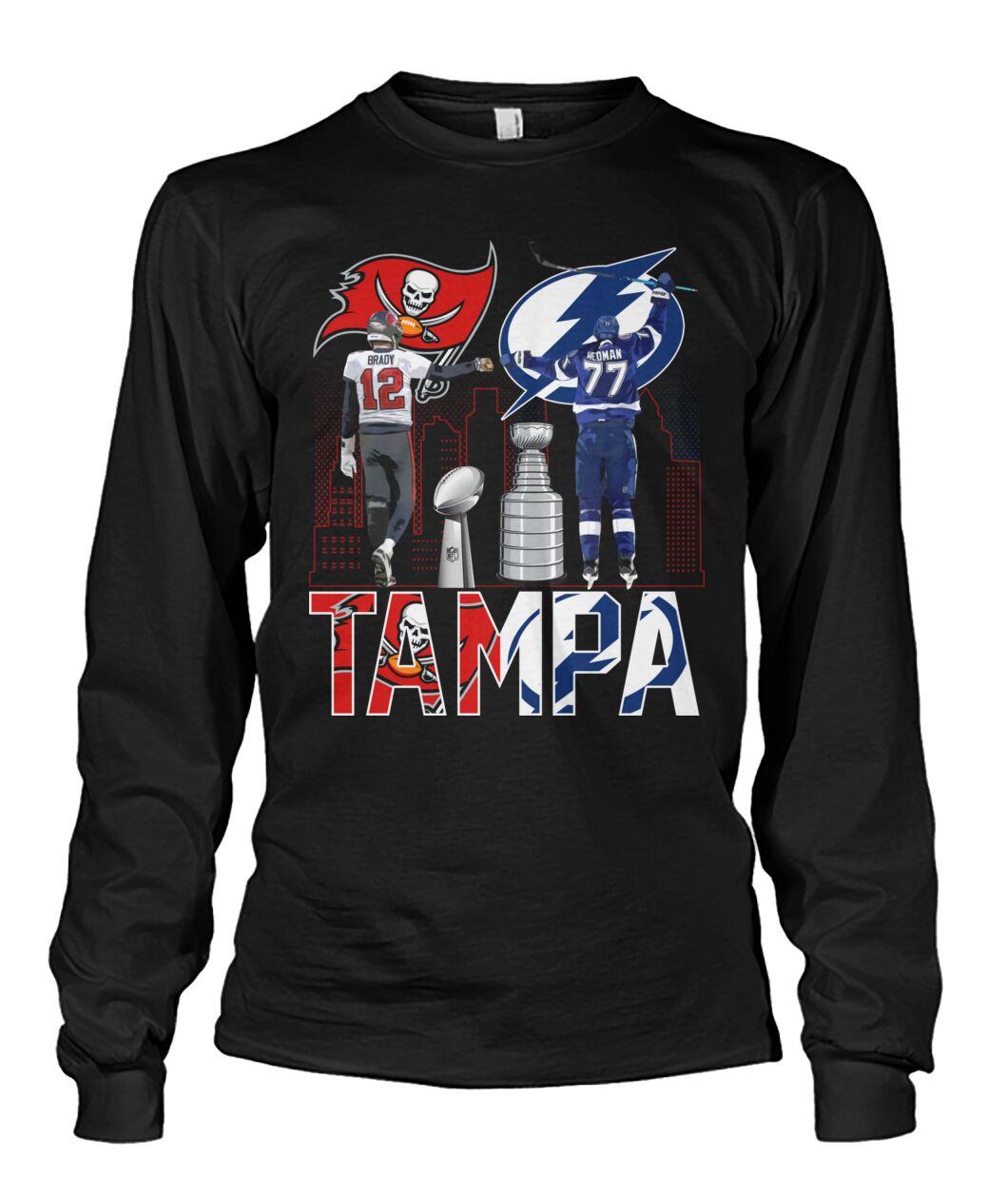 Tampa Brady 12 Heoman 77 shirt hoodie 13