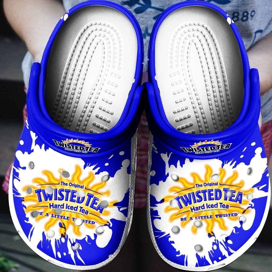 Twisted Tea Hard Iced Tea Croc shoes crocband
