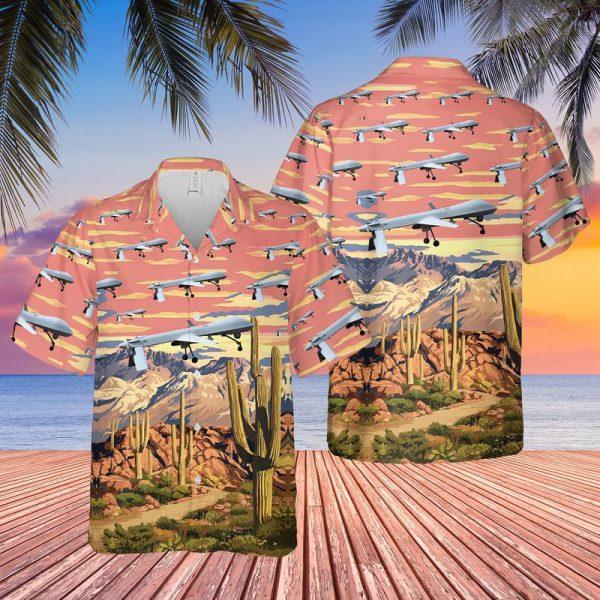 US Air Force Arizona Air National Guard Predators Hawaiian Shirt
