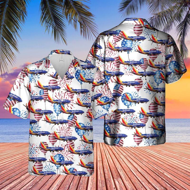 US Flag Airlines 3 Boeing 737 8 MAX Hawaiian Shirt