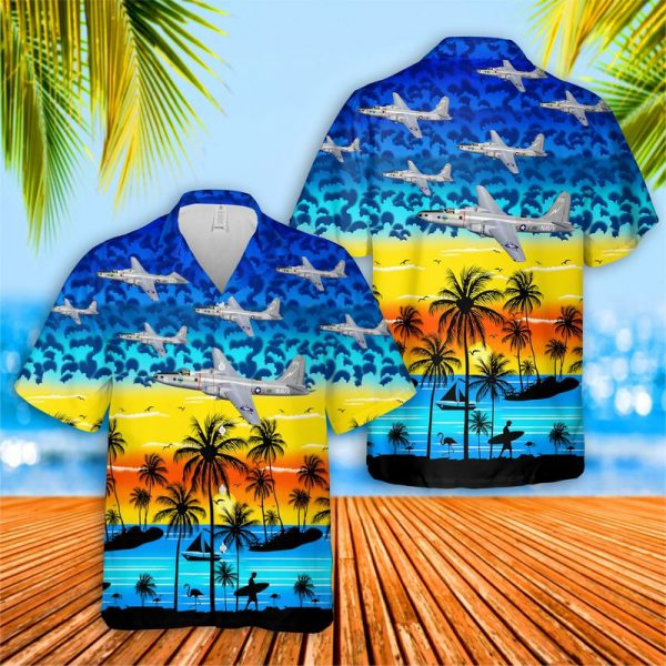 US Navy Martin P4M Mercator Hawaiian Shirt