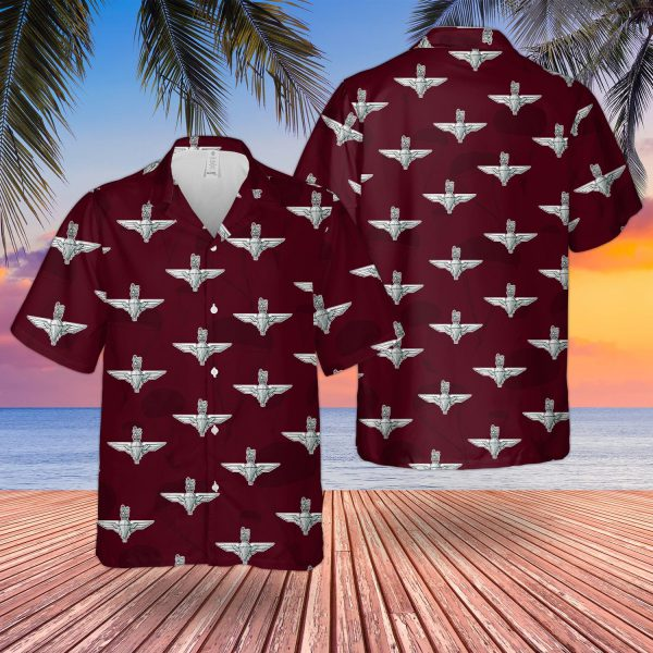 Uk Parachute Regiment Hawaiian Shirt