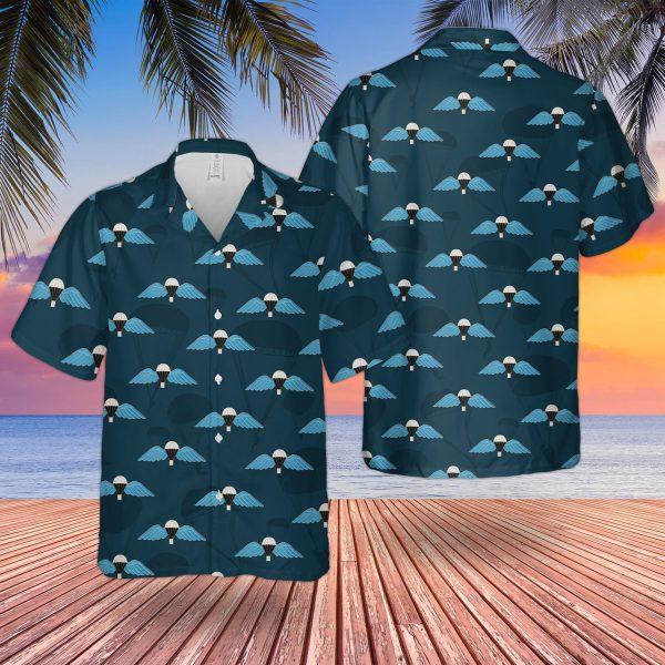 Uk Parachute Regiment Wings Hawaiian Shirt