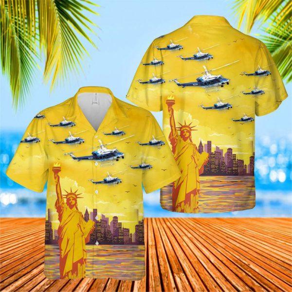 Us Park Police Helicopter Hawaiian Shirt