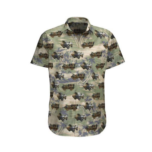 Vab French Army Hawaiian Shirt And Shorts