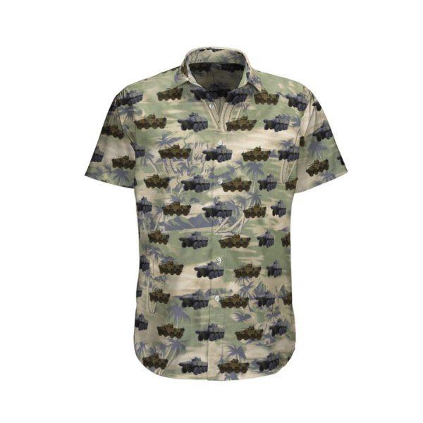 Vbci French Army Hawaiian Shirt And Shorts