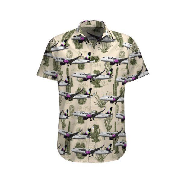 Volaris Airbus A320271n Hawaiian Shirt