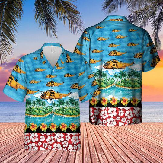 Westland sea king har3 hawaiian shirt 1 6