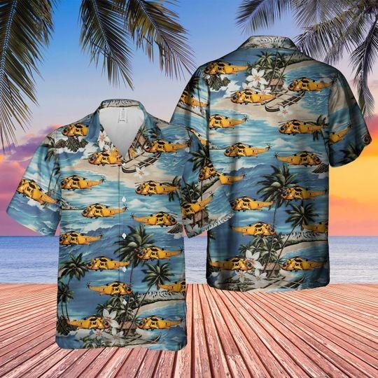Westland sea king hawaiian shirt 1 1