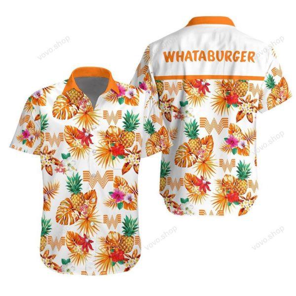 Whataburger Hawaiian Shirt