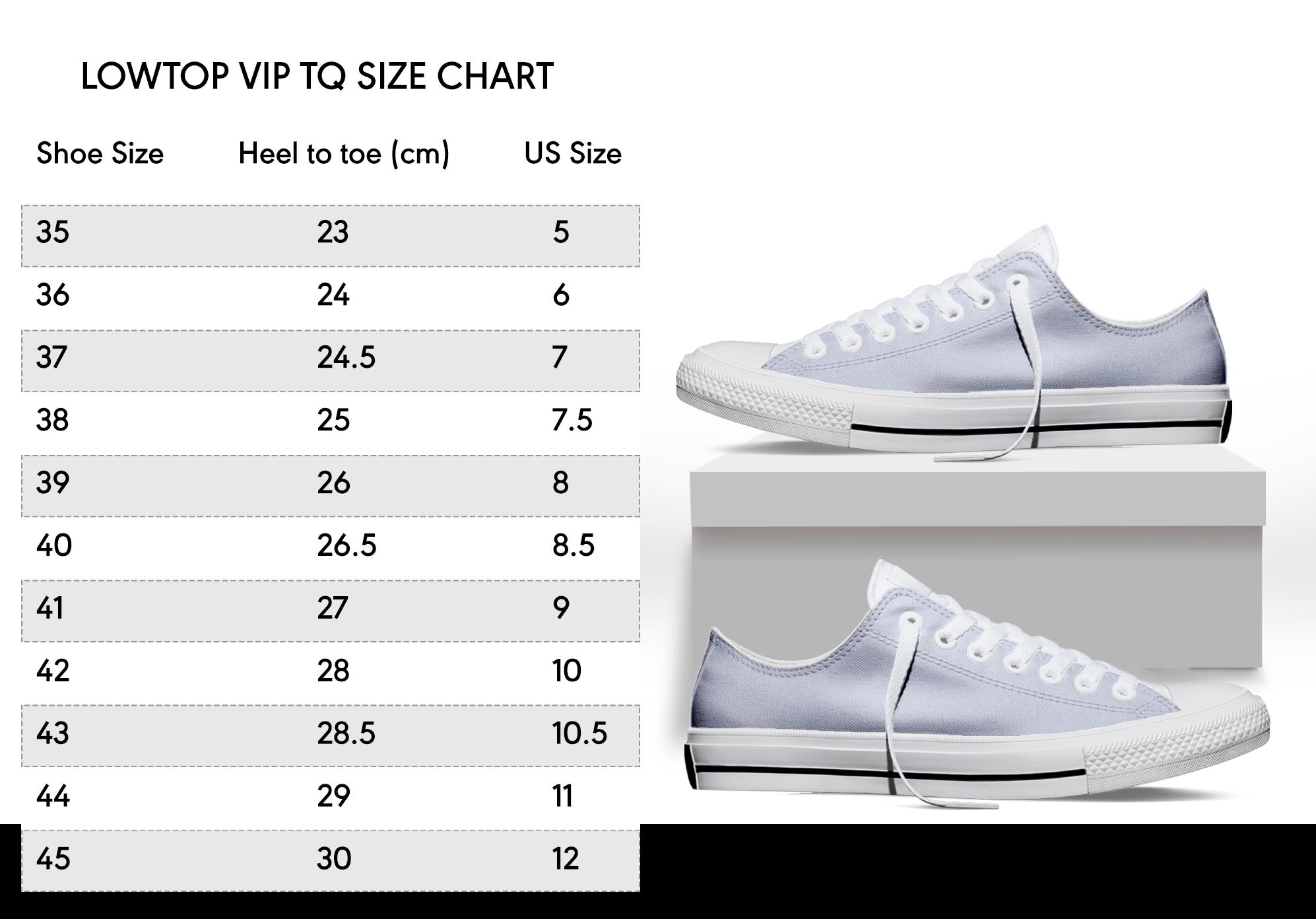 lowtop vip tq size chart 21 10 20