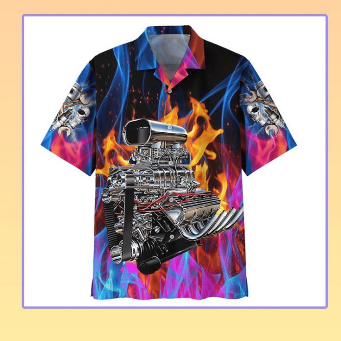 Hot rod hawaiian shirt