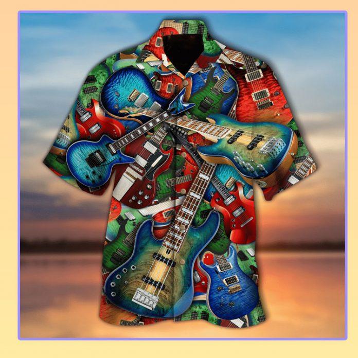 Guiter the soul hawaiian shirt