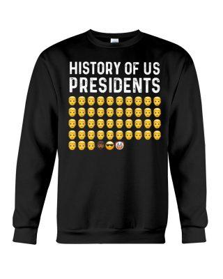History of us presidents shirt